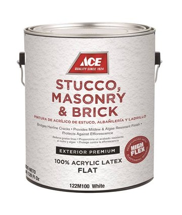 Краска ACE Stucco, Masonry & Brick Coating