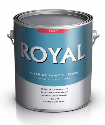 Краска для стен ACE Royal Flat Interior Paint and Primer